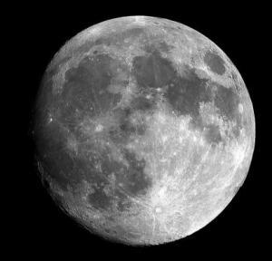 Alter des Mondes kann nur geschätzt werden